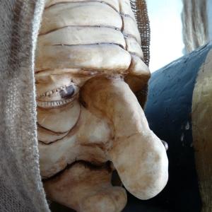 Création de masque théâtre